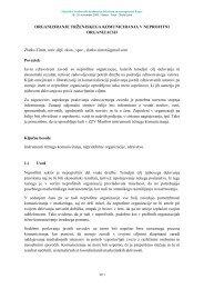 Organiziranje trženjskega komuniciranja v neprofitni organizaciji