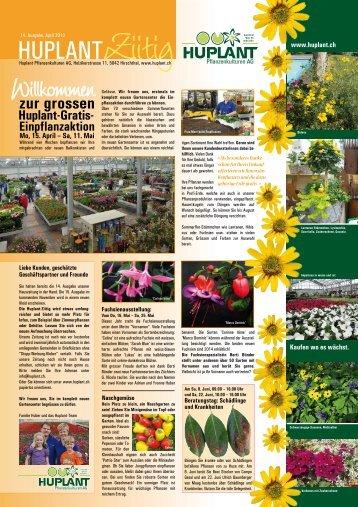 Seite 1 und 2 - Huplant