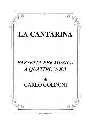 Il testo in PDF - Libretti d'opera italiani