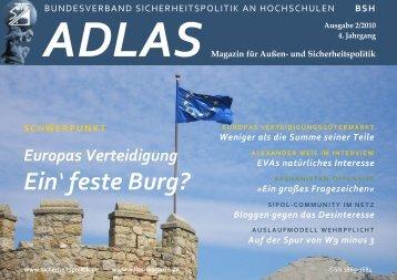 Ein' feste Burg? - Adlas - Magazin für Sicherheitspolitik