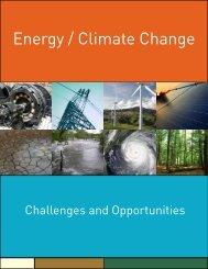 Energy / Climate Change - Secretaria do Meio Ambiente