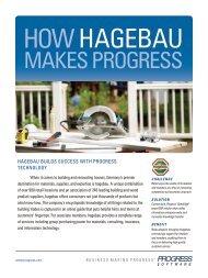 How Hagebau Makes Progress - Progress Software