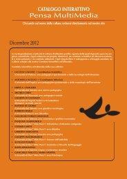 Catalogo Generale 2012 - Pensa Multimedia