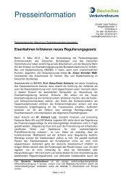 Zum PDF im Download-Format - Deutsches Verkehrsforum
