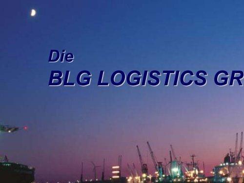 BLG LOGISTICS GROU - Deutsches Verkehrsforum