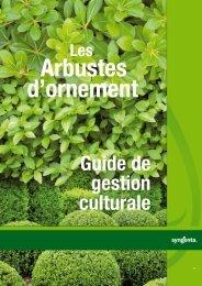 Guide de gestion culturale - Syngenta