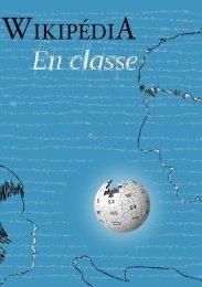 Wikipédia en classe - Wikimédia France