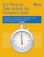 It's Time to Take Action for Ontario's Kids