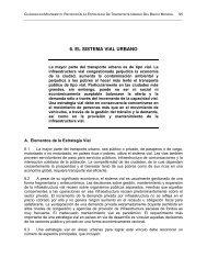 6. EL SISTEMA VIAL URBANO