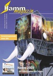 Hamm 2004 - die Höhepunkte des Jahres - Verkehrsverein Hamm
