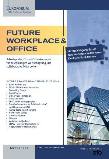 FUTURE WORKPLACE & OFFICE - Euroforum