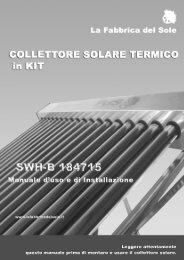 avviamento dell'impianto - La Fabbrica del Sole