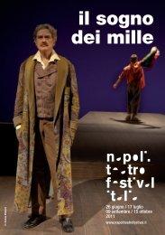 il sogno dei mille - Napoli Teatro Festival