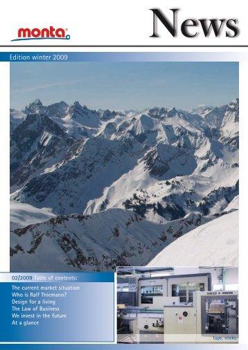 Edition winter 2009 - monta