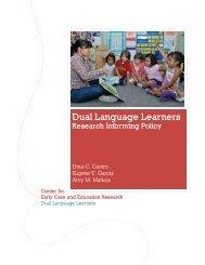 Dual Language Learners