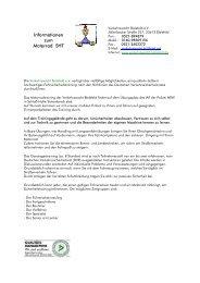 Informationen zum Motorrad SHT - Verkehrswacht Bielefeld e.V.