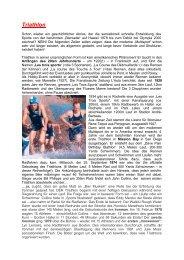 Geschichte des Triathlons - STTRV Steirischer Triathlon Verband