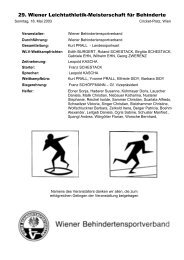 Wr. Leichtathletik-Meisterschaft - Vereinsmeier