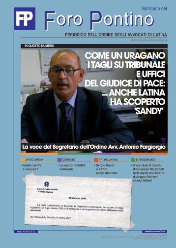 N. 3 - Ordine degli Avvocati di Latina