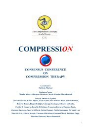 Consensus CompressiOn - Terapia compressiva