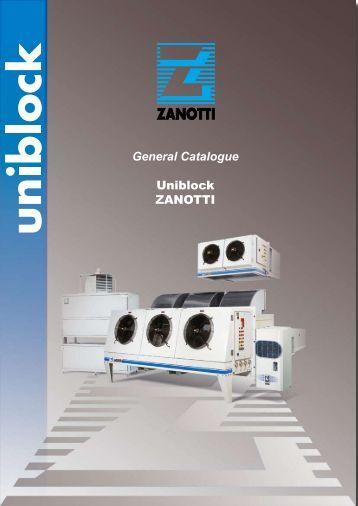 General Catalogue Uniblock ZANOTTI