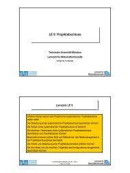 PM_WS0304_LE09.pdf - Lehrstuhl für Wirtschaftsinformatik