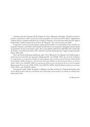 Problemi amministrativi e finanziari nella costruzione dell ...