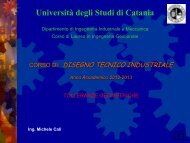 Tolleran geometriche - Dipartimento di Ingegneria Industriale ...
