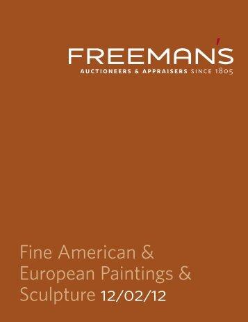 Fine American & European Paintings & Sculpture 12/02/12