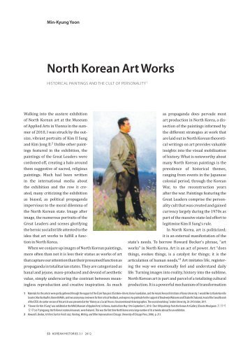 North Korean Art Works: Historical Paintings and ... - Korean Histories
