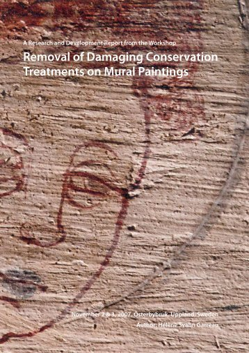Removal of Damaging Conservation Treatments on Mural Paintings