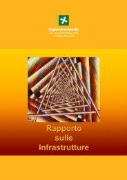 Rapporto sulle infrastrutture - ORS - Regione Lombardia
