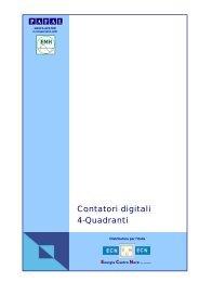 Contatori digitali 4-Quadranti - Energia Centro Nord
