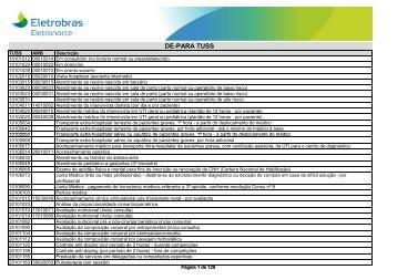 DE PARA TUSS AMB92 (em PDF)