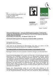 Ausbau Rheinhauptdeich zwischen Mausmeer und Nato ... - Gnor