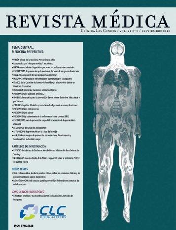 Volumen 21, Número 5 Septiembre 2010