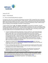 PDF] JCI Global Injection Mold Tool Standards - Johnson Controls Inc