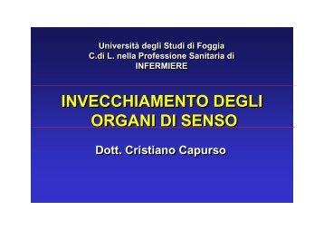 I parte - Facoltà di Medicina e Chirurgia - Università degli Studi di ...