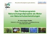Vortrag Dr. Hans-Jürgen Schäfer - NordWest Natur