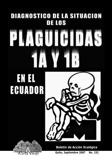 Plaguicidas en Ecuador - Prenatal
