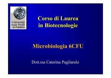 Introduzione alla microbiologia