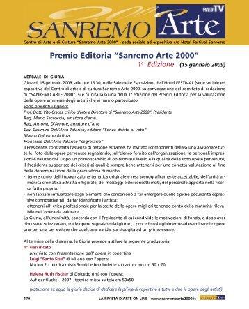 premio editoria.indd - Sanremo Arte 2000