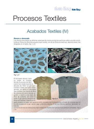 Acabados Textiles (IV)