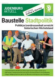 baustelle Stadtpolitik
