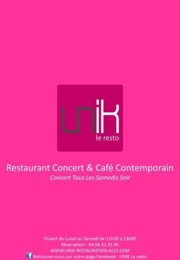 Télécharger un PDF - Restaurant Ales