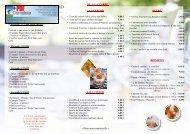 DEPLIANT cocktail donatoire 2012 - Hôtel Restaurant le Pont de ...