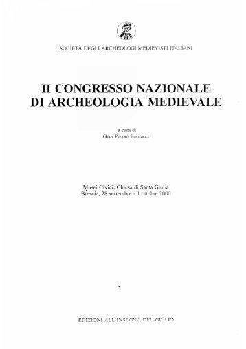 ii congresso nazionale di archeologia medievale - Ermanno A. Arslan