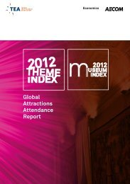 Global Attractions Attendance Report