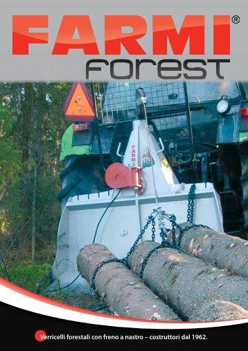 Verricelli forestali con freno a nastro – costruttori dal ... - Farmi Forest