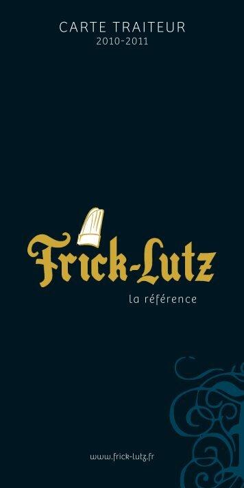 carte traiteur - Frick lutz